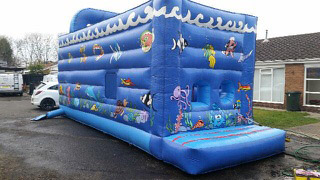 New-Blue-Bouncy-Castle