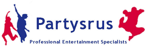 Partysrus - Corporate, Adult and Childrens Entertainment - Disco and Inflatable Hire