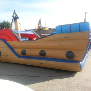 Inflatable Pirate Ship Durham